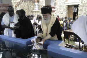 Ομαδικά μυστήρια βαπτίσματος στην Ι.Μ. Κατάγκας