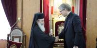 Ο γ.γ. του ΠΣΕ στον Πατριάρχη Ιεροσολύμων