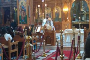 Πρωτοχριστιανικές στιγμές διδασκαλίας για μαθητές στον ναό Κοιμήσεως Θεοτόκου Ελ. Βενιζέλου- Πολυγώνου