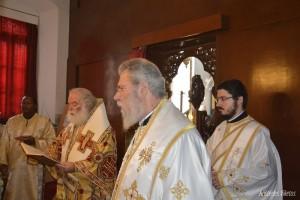 Μέγας Ευεργέτης του Πατριαρχείου Αλεξανδρείας ο Κύπρου Χρυσόστομος