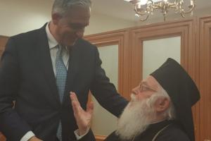 Ο  Αλβανίας Αναστάσιος συνάντησε  Κύπριους βουλευτές