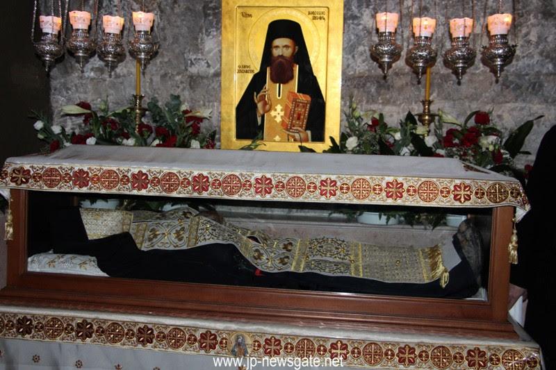 Κατάταξις στο Αγιολόγιο του Ὁσίου Ἰωάννου του Νέου Χοζεβίτου