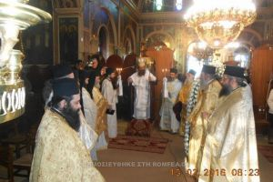 Εορτή του Αγίου Ανθίμου του Χίου, Κτήτορος της Ι.Μ. Παναγίας Βοηθείας (ΦΩΤΟ)