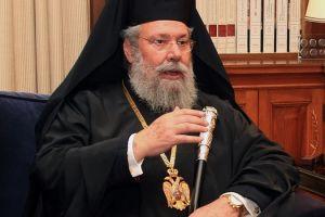 """Αρχιεπίσκοπος Κύπρου Χρυσόστομος: """"Είμαστε πολύ μακριά από τη λύση"""""""