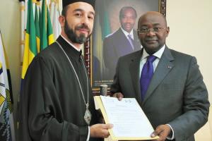 Επίσημη αναγνώριση της Ορθόδοξης Εκκλησίας από τη Δημοκρατία της Γκαμπόν
