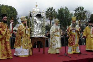 Μεγαλοπρεπής γιορτή για τον Άγιο Χαράλαμπο στα Φιλιατρά