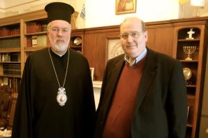 Ο Υπουργός Παιδείας και Θρησκευμάτων της Ελλάδος στον Μητροπολίτη Βελγίου