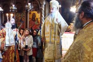 Ποιμαντική επίσκεψη στο  Καρπενήσι  ως Τοποτηρητής ο Ναυπάκτου Ιερόθεος