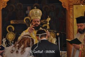 Θεία Λειτουργία με γάμο στην Κομοτηνή