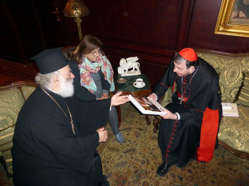 O Kαρδινάλιος για την ενότητα των Χριστιανών στο Πατριαρχείο Αλεξανδρείας