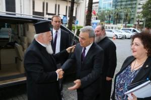 Ο Οικουμενικός Πατριάρχης Βαρθολομαίος στη Σμύρνη