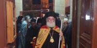 Συλλείτουργο για τα ονομαστήρια του Πατριάρχη Αλεξανδρείας  στην Κύπρο και συγκινητικές στιγμές