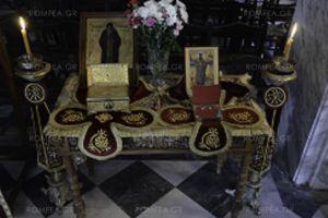 Στον Ι.Ν. Μεταμορφώσεως Πλάκας τίμησαν τον Όσιο Αρσένιο του εν Πάρω