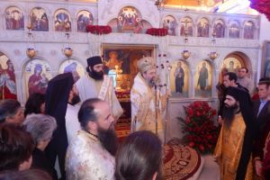 Η εορτή του αγίου Ανθίμου του Χίου στην Πάτρα