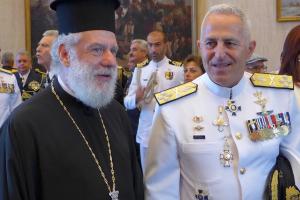 Επισκέψεις δημοσίων σχέσεων του Μητροπολίτη Σύρου Δωροθέου Β ´στην Αθήνα