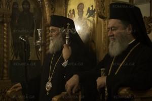 Πανηγυρικός Εσπερινός για τον Άγιο Ρηγίνο τον Θαυματουργό  στη Σκόπελο