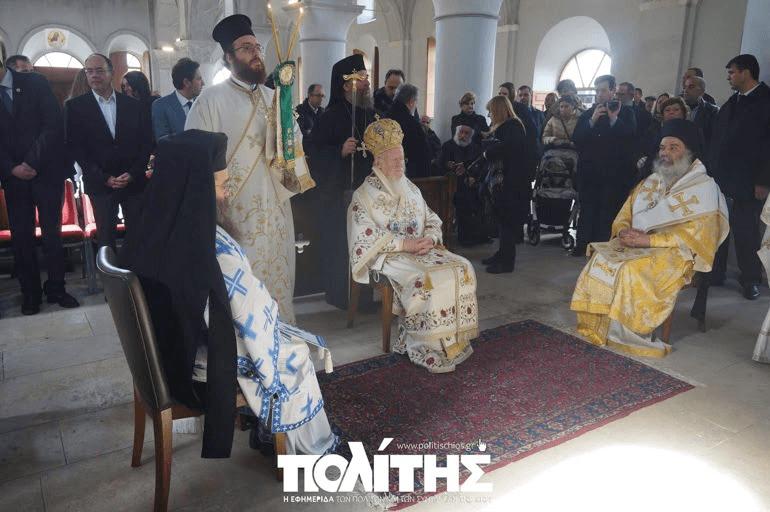 You are currently viewing Πατριαρχική Θεία Λειτουργία για πρώτη φορά μετά το 1922 (ΦΩΤΟ)