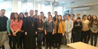 Ποιμαντικές επισκέψεις του μητροπολίτη Σουηδίας στα ελληνικά σχολεία της Στοκχόλμης