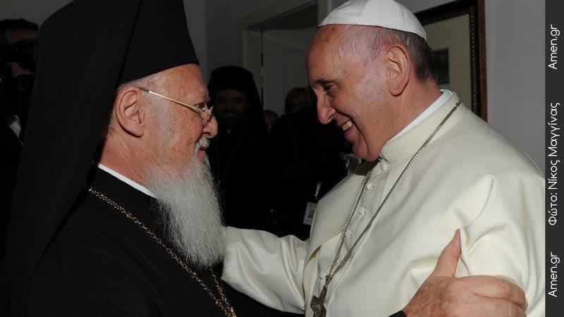 Νέα επίσκεψη του Πάπα Φραγκίσκου στο Οικουμενικό Πατριαρχείο