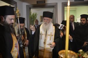 Εγκαίνια του Κοινωνικού Ιατρείου Εδέσαης από τον Αρχιεπίσκοπο Αθηνών Ιερώνυμο