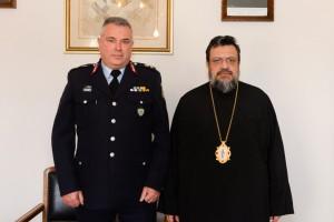 Στο Μητροπολίτη Μεσσηνίας ο  νέος Διευθυντής Αστυνομίας Μεσσηνίας