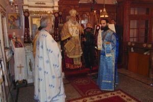 Τη Θεία Λειτουργία στον Αφιώνα τέλεσε ο Μητροπολίτης Κερκύρας Νεκτάριος