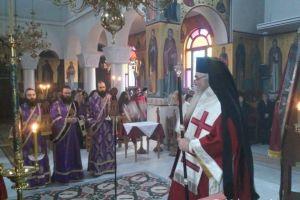 Προηγιασμένη Θεία Λειτουργία στον Άγιο Νικάνορα Καστοριάς
