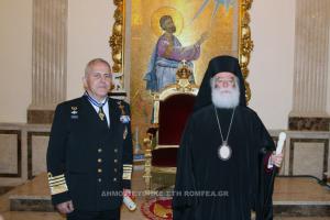 Ο Αρχηγός των Ενόπλων Δυνάμεων στο Πατριαρχείο Αλεξανδρείας (ΦΩΤΟ)