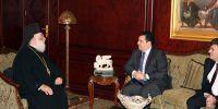 Επίσκεψη του Υπουργού Αμύνης της Κύπρου στο Πατριαρχείο Αλεξανδρείας