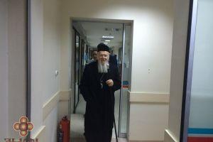 Ο Οικουμενικός Πατριάρχης στη μικρή Asya που τραυματίστηκε σε τρομοκρατική επίθεση