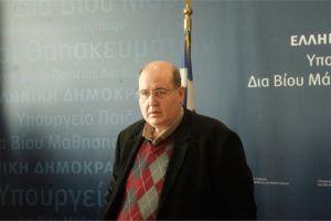 Μήνυμα του Υπουργού Παιδείας, Νίκου Φίλη, για την επέτειο της 25ης Μαρτίου