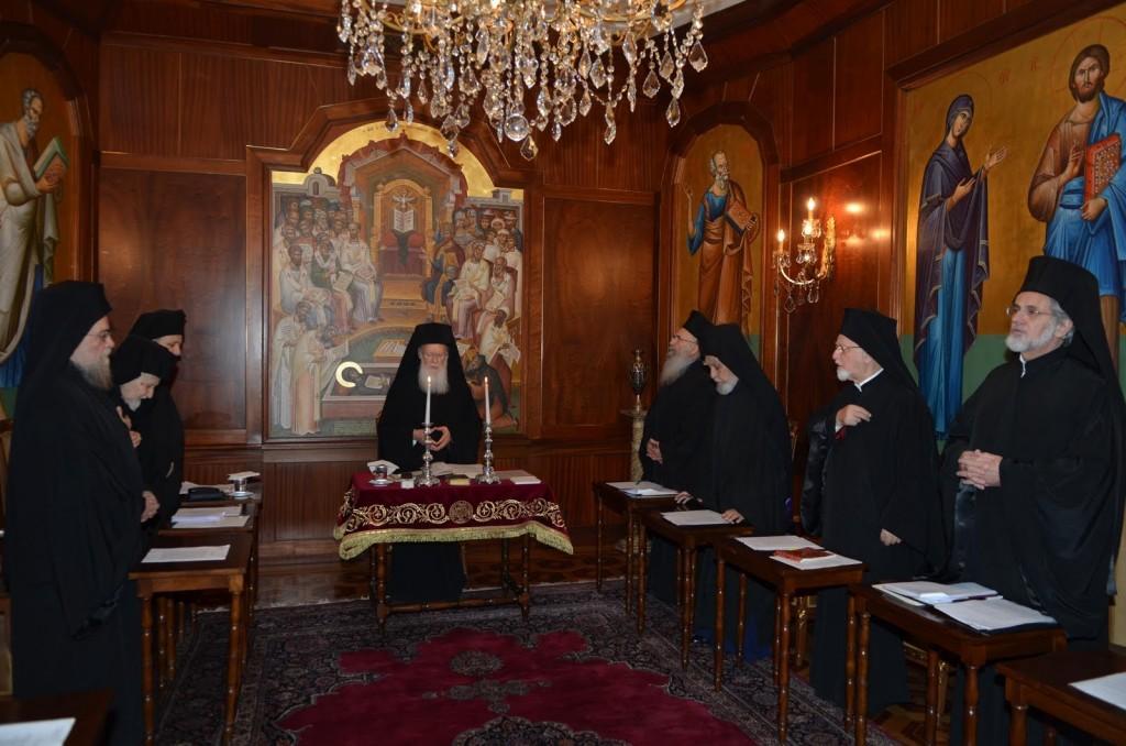 Ανασυγκρότηση Ιεράς Συνόδου Οικουμενικού Πατριαρχείου