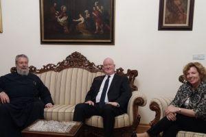 Ειδικός σε θέματα θρησκείας των ΗΠΑ στον Αρχιεπίσκοπο Κύπρου