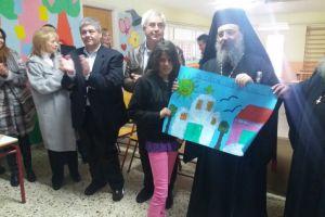 Στιγμές με τους μαθητές των Σαγέικων μοιράστηκε ο μητροπολίτης Πατρών