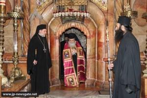 Η ονομαστική εορτή του Πατριάρχη Ιεροσολύμων Θεοφύλου
