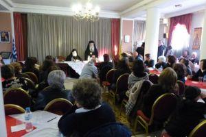 Στη Σχολή Γονέων και στη Συνάντηση Νέων στην Καστοριά ο Γέροντας Εφραίμ