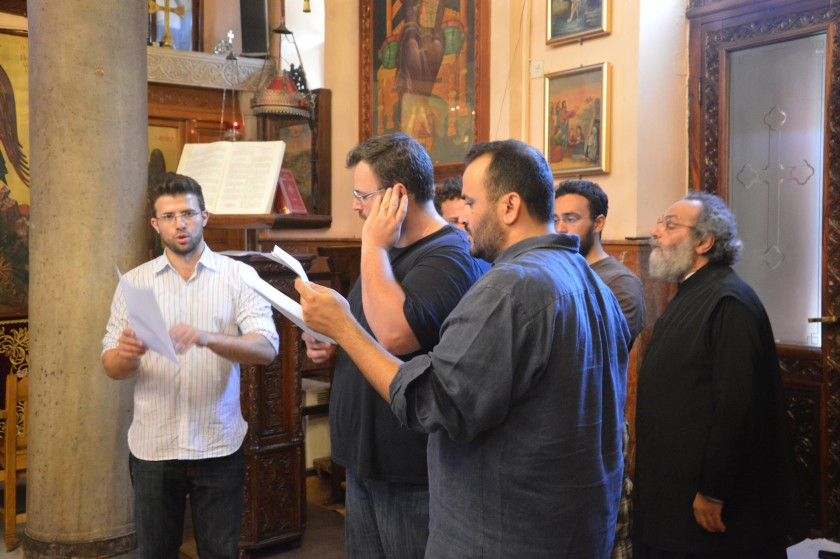 You are currently viewing Ένας Σαλονικιός καθηγητής στο USC άκουσε φτερουγίσματα αγγέλων στις εκκλησίες της Θεσσαλονίκης