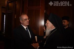 Ο ΥφΕξ Δ.Μάρδας και φοιτητές από τη Θεσσαλονίκη επισκέφθηκαν το Οικ.Πατριαρχείο