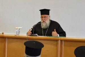 Ο Σεβ. Κερκύρας Νεκτάριος στην Ιερατική Σύναξη της Ι. Μητροπόλεως Εδέσσης