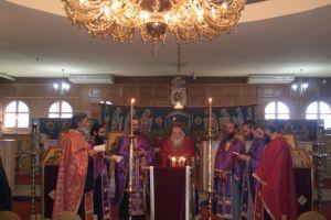Παννυχίς και ευχέλαιο στη Θεολογική Θεσσαλονίκης ως ετοιμασία για την Μ. Εβδομάδα