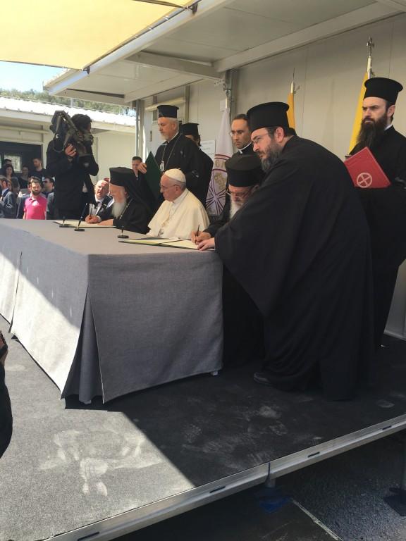 Πάπας-Πατριάρχης και Αρχιεπίσκοπος στη Μόρια.