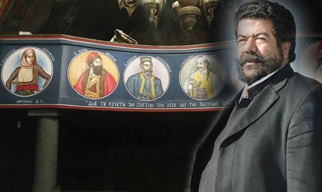 Ο Παπά-Ανδρέας Κεφαλογιάννης των Ανωγείων βάζει Αγίους και ήρωες του ´21, μαζί στην Εκκλησιά