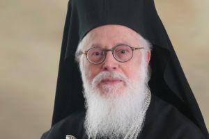 Βραβείο  στον Αρχιεπίσκοπο Αλβανίας Αναστάσιο για βιβλίο του