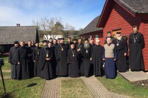 Ιερατική Σύναξη στην Εκκλησία της Εσθονίας