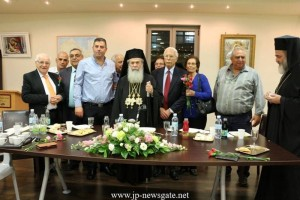 O Πατριάρχης Ιεροσολύμων στη Χάιφα για την Δ΄ Στάση των Χαιρετισμών (VIDEO)