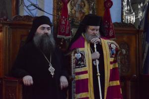"O Ηγούμενος Εσφιγμένου Βαρθολομαίος στα Χανιά: ""Μετάβασις από την ελπίδα εις την βεβαιότητα της Αναστάσεως"""