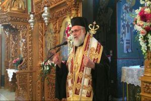 Ιλίου Αθηναγόρας: «Η Παναγία είναι δίπλα μας, κανείς να μην την αφήσει να ξαναπονέσει»