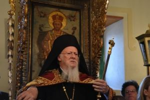 Ο Πατριάρχης Βαρθολομαίος στην Ιμβρο εκ βαθέων