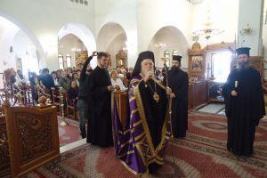 Ο Κορωνείας Παντελεήμων στον Κατανυκτικό Εσπερινό Αγίου Δημητρίου στο  Μπραχάμι