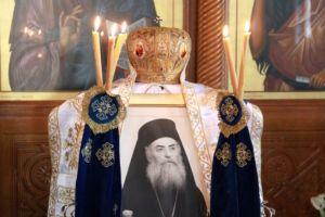 Μνημόσυνο για τον Αρχιεπίσκοπο Σεραφείμ, από τον τελευταίο Πρωτοσύγκελλο του Μαραθώνος
